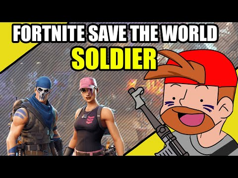 Fortnite: Save The World - Soldier