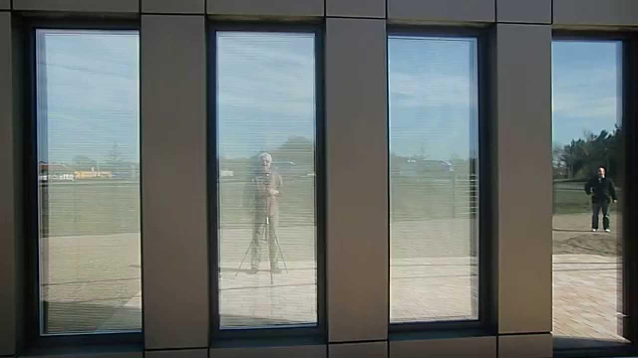 Folienrollo mit 88 % Büro Sonnenschutz 97 % Büro Blendschutz