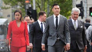 Folau And Rugby Australia To Settle Dispute