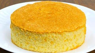 Sponge Cake Recipe | Basic Sponge Cake Recipe | Vanilla Sponge Cake mp3 indir