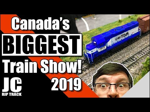 Canada's Largest Model Train Show 2019