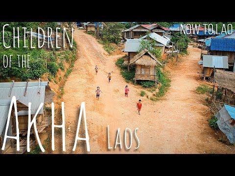 Travel Laos: Akha People of Northern Laos - We explore an Akha village in Muang Sing - Now to Lao