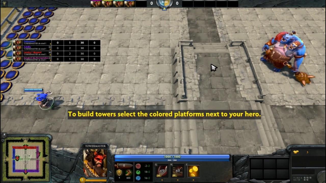 dota 2 spin td tutorial para ganar win on hard strategy