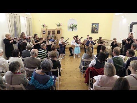 The Suzuki School Ensemble performs Sh.Suzuki's Allegro