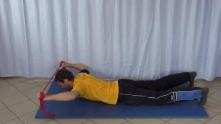 Ganzkörperspannung Rücken in Bauchlage