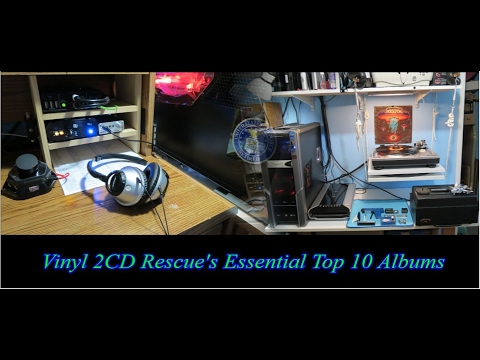 Vinyl 2CD Rescue's Essential Top 10 Albums - Channel33RPM Challenge