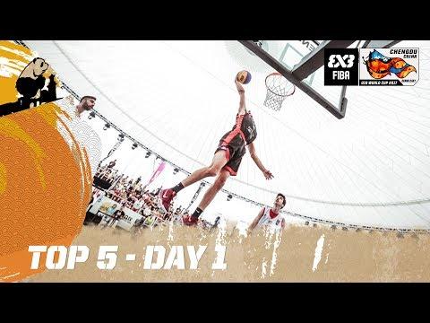 Top 5 - Day 1 - FIBA 3x3 U18 World Cup 2017