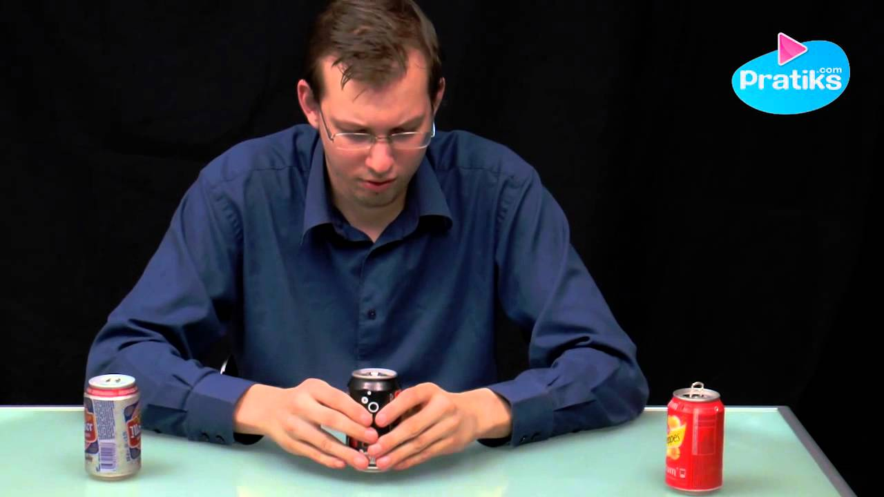 Tip - How to open a shaken can of soda