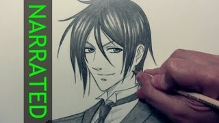 "How to Draw Sebastian from ""Black Butler"""