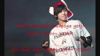 Heo Young Saeng Rainy Heart Lyric + Eng Sub
