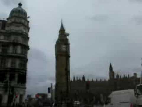Departure on third UK trip and London Walk