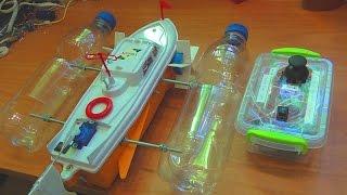 Как сделать радиоуправляемый кораблик(В этом видео я покажу Вам как можно сделать радиоуправляемый кораблик своими руками. Детали можно купить..., 2015-06-08T18:25:22.000Z)