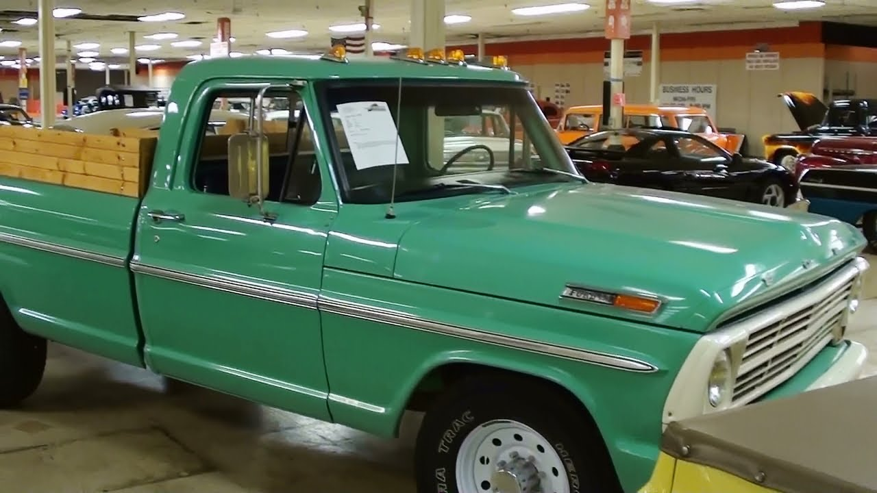 1969 Ford F250 Startup And Closer Look Full Walkaround