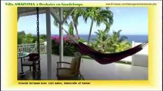 Villa Amazonia, location de villa à Deshaies en Guadeloupe