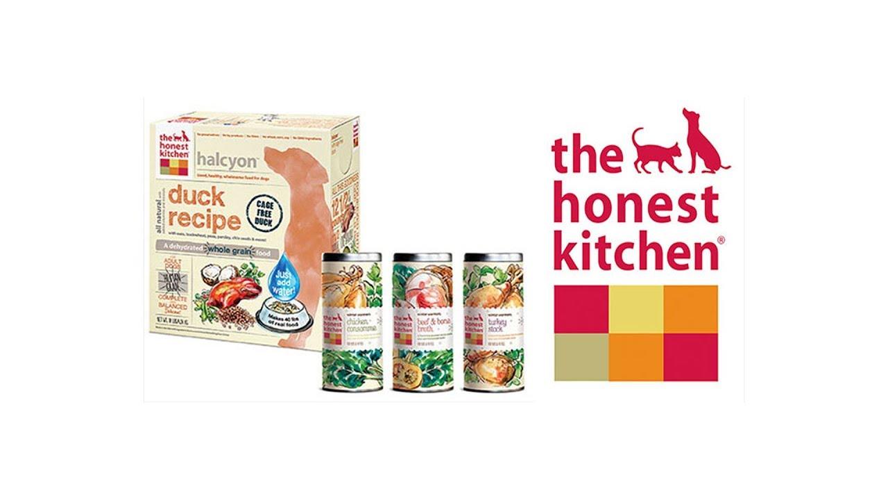 Honest Kitchen Dehydrated Dog Food - Preparation - YouTube
