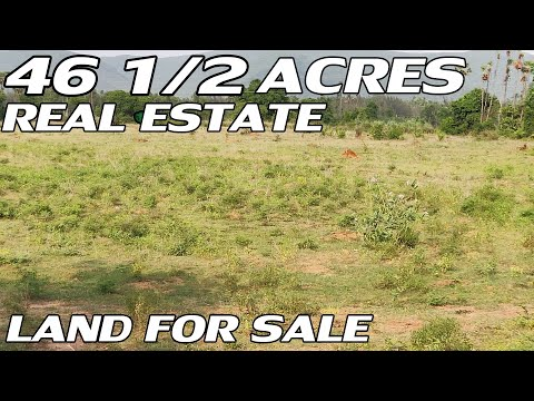 46 1/2 ACRE LAND FOR SALE | REAL ESTATE PROPERTY FOR SALE | LOW-COST PROPERTIES | PROPERTY PROMOTION