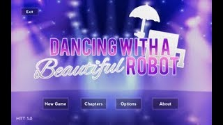 LIVE Dancing With A 𝑩𝒆𝒂𝒖𝒕𝒊𝒇𝒖𝒍 Robot (Undertale VN Game)