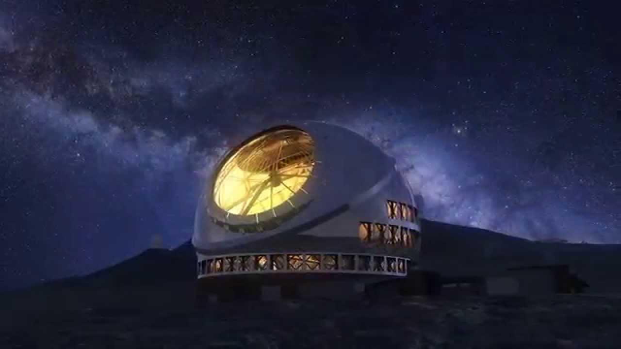 超大型望遠鏡TMT完成予想動画 - ...