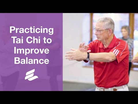 Practicing Tai Chi to Improve Balance