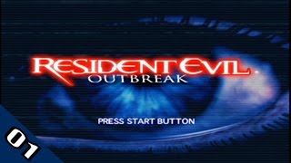 Let's Play - RESIDENT EVIL: OUTBREAK - Part 1 (Outbreak)