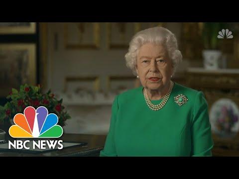 Queen Elizabeth R Eassures Britain Amid Coronavirus Pandemic: 'Better Days Will Return' | NBC News