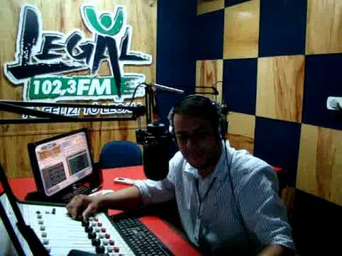 LOCUTOR ROGERIO PRADO - RADIO LEGAL FM 102,3 PIRES DO RIO - GO