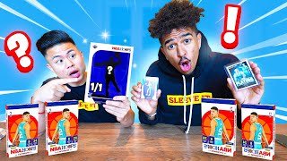 WE PULLED A RARE 1/1 CARD! CRAZY 2021 PANINI NBA HOOPS HOBBY BOX PACK OPENING WITH LSK!
