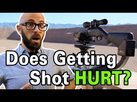 What Does Being Shot Actually Feel Like?