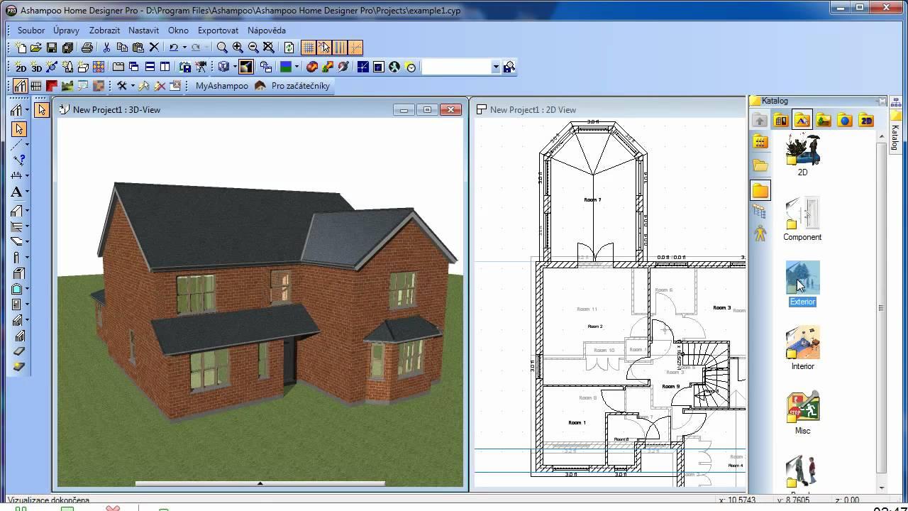 Ashampoo Home Designer Pro - první prezentace české verze ...