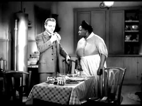 James Cagney and Hattie McDaniel