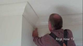 How To Install Ceiling Crown Molding