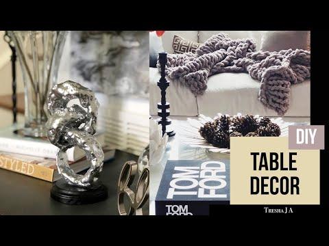 DIY Coffee Table Decor  - Abstract Sculpture