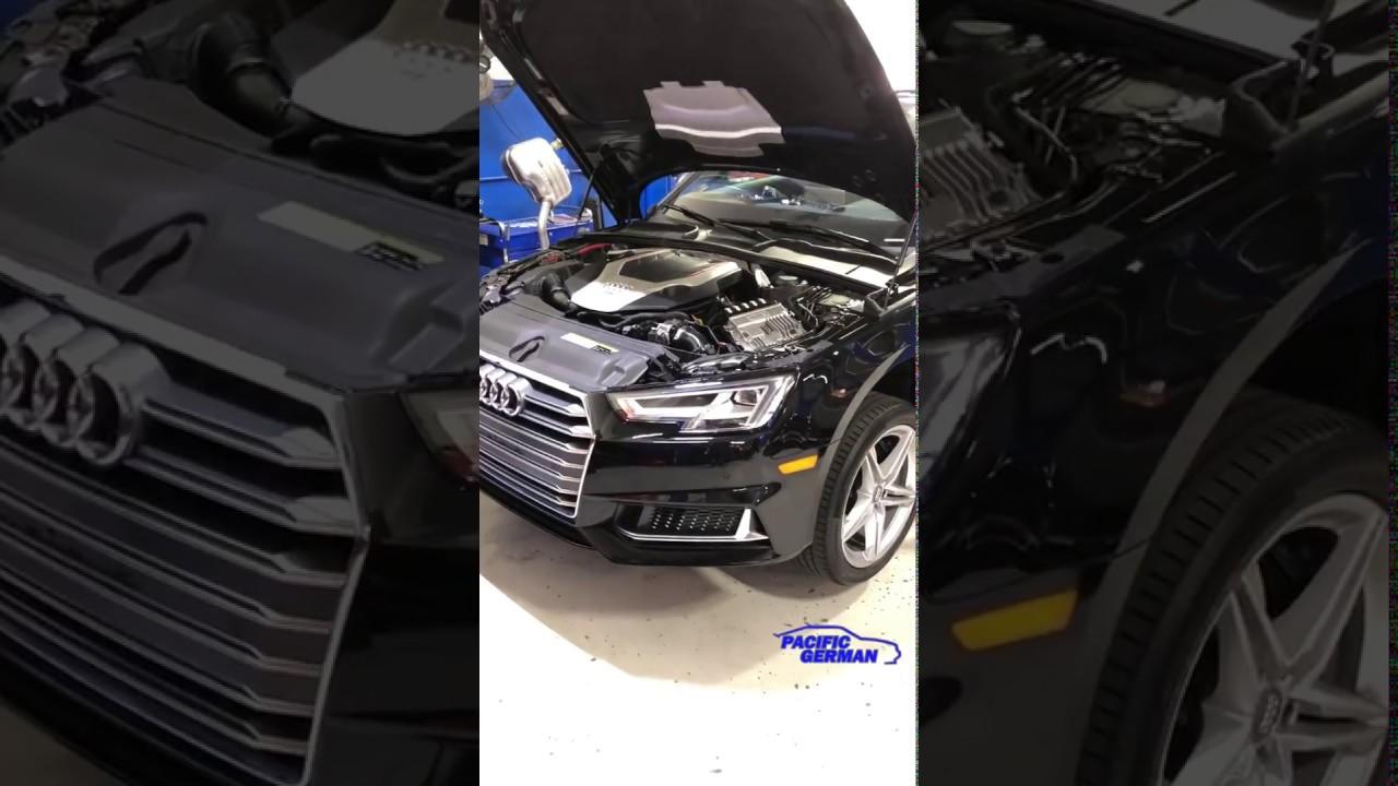 e5fd3d15419d2a 2018 Audi Allroad to S4 engine conversion part 2. Pacific German Pacific  German