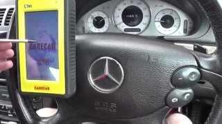 Mercedes Parking Sensor Fault Diagnosis Guide (Parktronic)