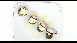 Фаршированные кабачки под сыром | 7 нот вегетарианской кухни