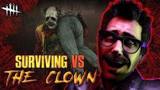 SURVIVING VS THE CLOWN [#178] Dead by Daylight with HybridPanda [NEW KILLER]