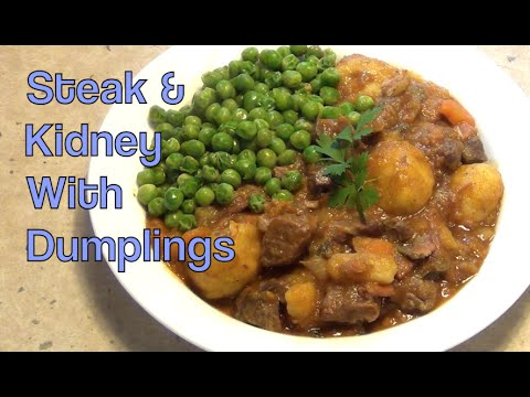 Steak & Kidney With Dumplings Cheekyricho Pressure Cooker Video Recipe Episode 1,011