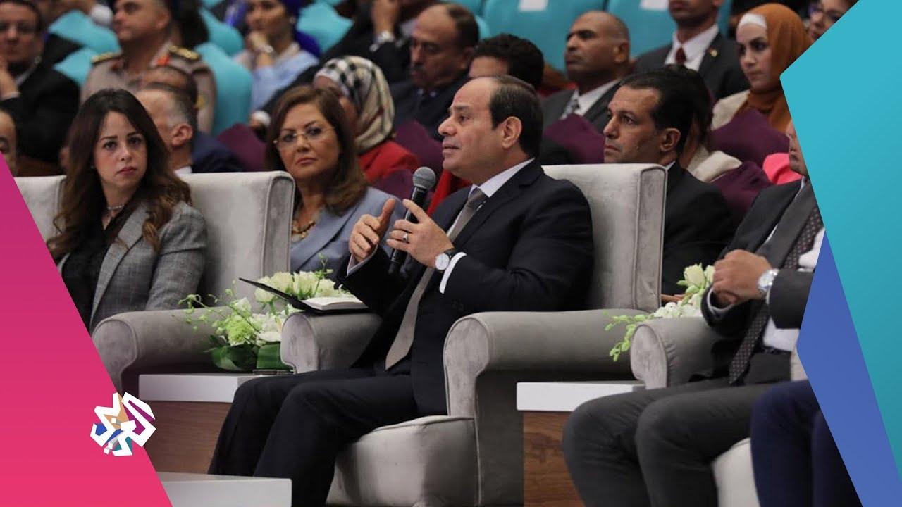 قناة العربي:العربي اليوم│السيسي يرد على اتهامه بتبديد أموال المصريين وبناء القصور