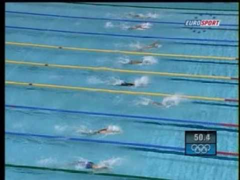 Athens 2004 - 200m butterfly 2nd semifinal