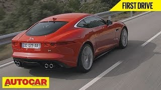 Jaguar F Type Coupe V6S & V8R | First Drive Video Review | Autocar India