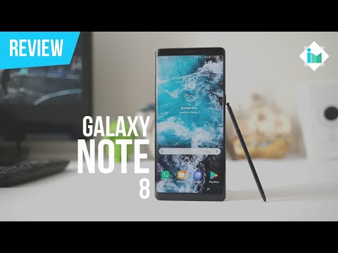 Samsung Galaxy Note 8 - Review en español
