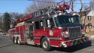 Fire trucks Responding Compilation #13 - Spartan Fire Trucks Part 1