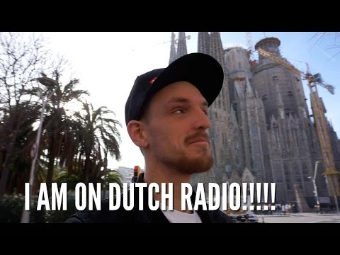I MADE IT ON TO DUTCH RADIO!!!