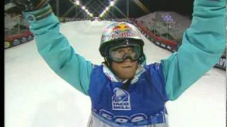Tanner Hall 2007 X-Games Pipe Run- 1st place