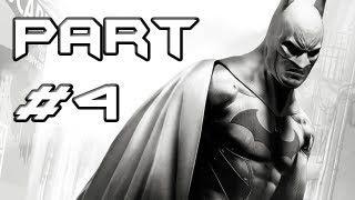 BATMAN Arkham City Gameplay Walkthrough - Part 4 - Baseball Bat to the Face (Let