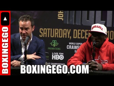 """(HUNGER!!) TERENCE CRAWFORD READY TO MAKE IMPACT AT WELTERWEIGHT """"IM SO READY TO BE CHAMP @ 147!"""""""