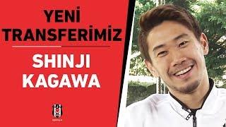 Yeni transferimiz Shinji Kagawa BJK TV'ye özel açıklamalarda bulundu 📺 🎙