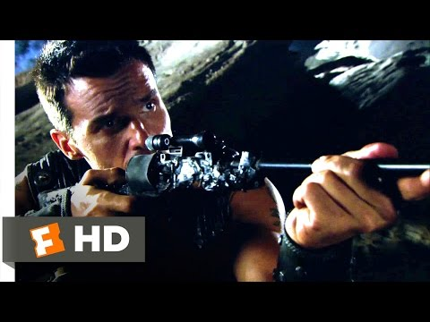 Princess of Mars (2009) - Bug Blasters Scene (6/10) | Movieclips