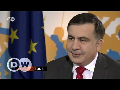 Mikheil Saakasvili on Conflict Zone | DW English