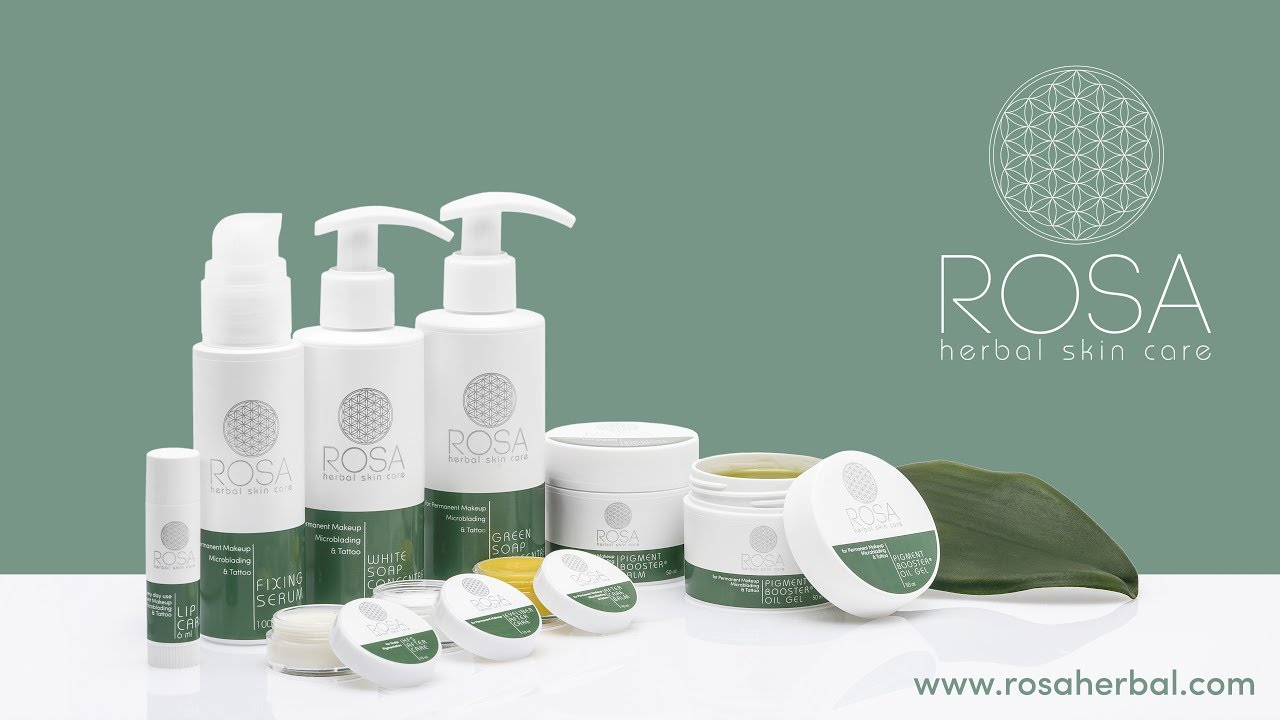 Rosa Herbal Skin Care Product Preview Youtube